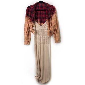 CosabellsaBeige Maxi Dress